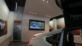 Tesla Model X SUV filme