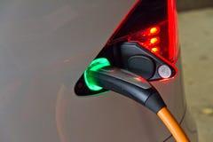 Tesla Models electronic car chrager Royalty-vrije Stock Foto's