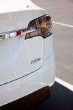 Tesla Modelx elektrische auto Royalty-vrije Stock Fotografie