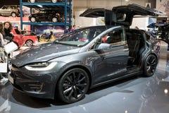 Tesla Modelx SUV auto stock fotografie