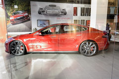 Tesla Motors royalty free stock photography