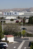 Tesla Motors factory Royalty Free Stock Photography