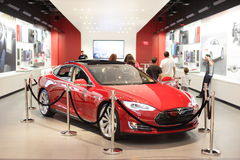 Tesla Motors Stock Photo