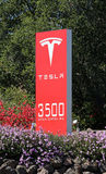 Tesla Motors World Headquarters Royalty Free Stock Images