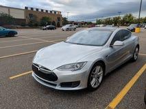 Tesla Model-T royalty free stock photography