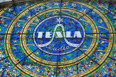 Tesla, Prague, Czech Republic Royalty Free Stock Photo