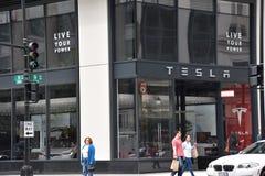 Tesla Samochodowa sala wystawowa w Waszyngton, DC Zdjęcia Stock