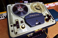 Tesla Sonet Duo ANP 210. Vacuum Tube Reel to Reel, Czechoslovakia 1959-1965 Royalty Free Stock Photography