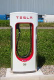 Tesla supercharger Royalty Free Stock Images