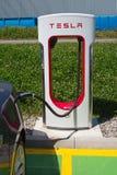 Tesla supercharger Stock Images
