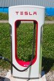 Tesla supercharger Stock Photography