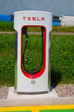 Tesla supercharger Royalty Free Stock Image