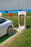 Teslacompressor Royalty-vrije Stock Afbeeldingen