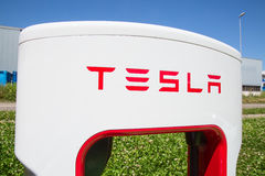 Teslacompressor Stock Foto's