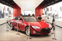 Teslamotoren Stock Foto