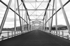 Teslin Bridge Royalty Free Stock Images