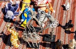 Tesori dell'oggetto d'antiquariato del Portogallo Fotografia Stock