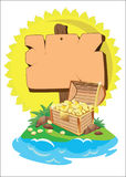 Tesoro stock de ilustración