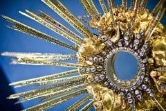 Tesoro de la iglesia de Loreta, Praga. Fotos de archivo libres de regalías