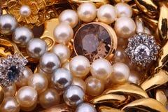 Tesoro de la joyería Imágenes de archivo libres de regalías