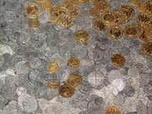 Tesoro de la moneda Fotos de archivo libres de regalías