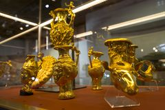 Tesoro de oro de Panagyurishte Foto de archivo libre de regalías