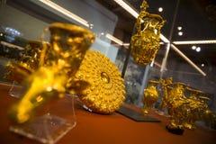 Tesoro de oro de Panagyurishte Fotos de archivo libres de regalías
