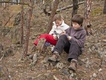 Tesoro dei bambini Fotografie Stock Libere da Diritti