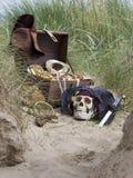 Tesoro del pirata Immagini Stock