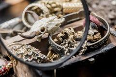 Tesoro del pirata Fotografía de archivo libre de regalías