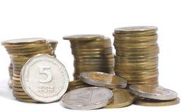 Tesoro della moneta fotografie stock libere da diritti