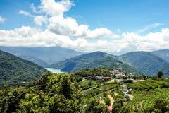 Tesoro di verde della montagna di Taiwan fotografia stock