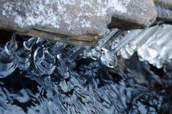 Tesoros del hielo Foto de archivo