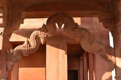 Tesouraria de Ankh Micholi, Fatehpur Sikri, Uttar Pradesh foto de stock