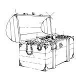 Tesouro ilustração stock