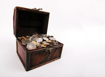 Tesouro-caixa Fotografia de Stock Royalty Free