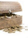 Tesouro-caixa Fotos de Stock Royalty Free