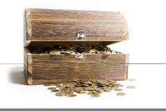 Tesouro-caixa Foto de Stock Royalty Free