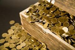 Tesouro-caixa Foto de Stock