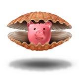 Tesouro das economias Imagens de Stock Royalty Free