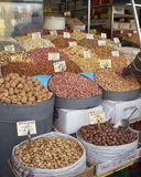 Tesouros da terra, porcas secadas & frutas Imagens de Stock