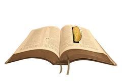 Tesouros na Bíblia do céu Fotos de Stock