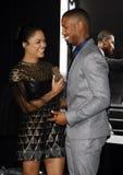 Tessa Thompson and Michael B. Jordan Royalty Free Stock Image