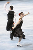 Tessa Virtue and Scott Moir (CAN) Royalty Free Stock Image