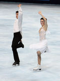 Tessa Virtue and Scott Moir (CAN) Stock Photo