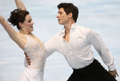 Tessa Virtue and Scott Moir (CAN) Stock Photography