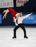 Tessa VIRTUE / Scott MOIR (CAN) Royalty Free Stock Images