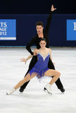 Tessa VIRTUE/Scott MOIR (KAN) royalty-vrije stock foto