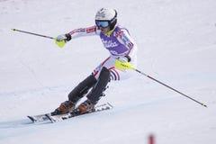 Tessa Worley - het alpiene ski?en Stock Fotografie