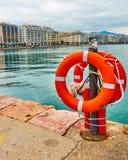 Tessalónica e avenida de Nikis fotos de stock royalty free